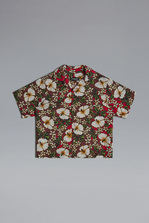 DSQUARED2 Hawaiian Boxy Shirt Shirt Woman