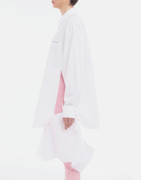 MAISON MARGIELA Décortiqué poplin cape shirt Long sleeve shirt [*** pickupInStoreShipping_info ***] a