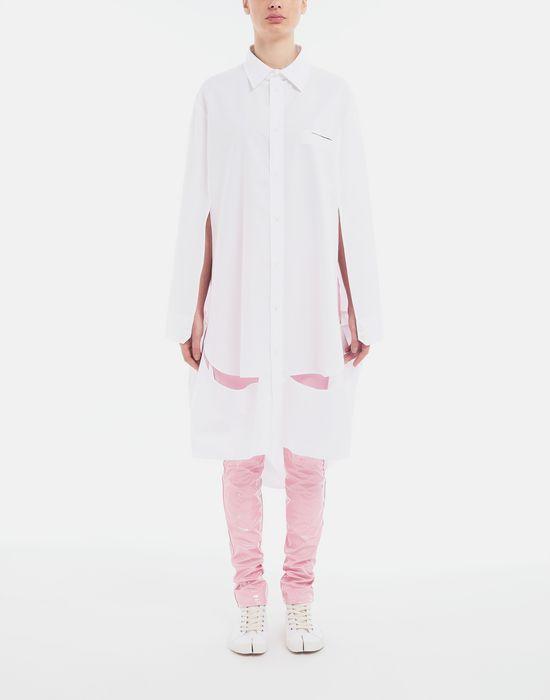 MAISON MARGIELA Décortiqué poplin cape shirt Long sleeve shirt [*** pickupInStoreShipping_info ***] d