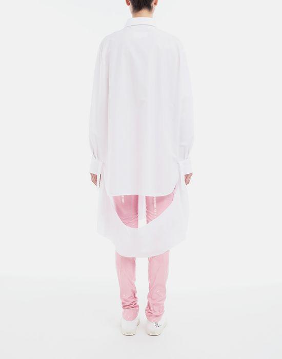 MAISON MARGIELA Décortiqué poplin cape shirt Long sleeve shirt [*** pickupInStoreShipping_info ***] e