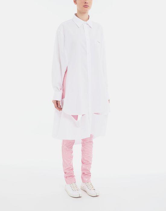 MAISON MARGIELA Chemise cape en popeline «décortiqué» Chemise manches longues [*** pickupInStoreShipping_info ***] r