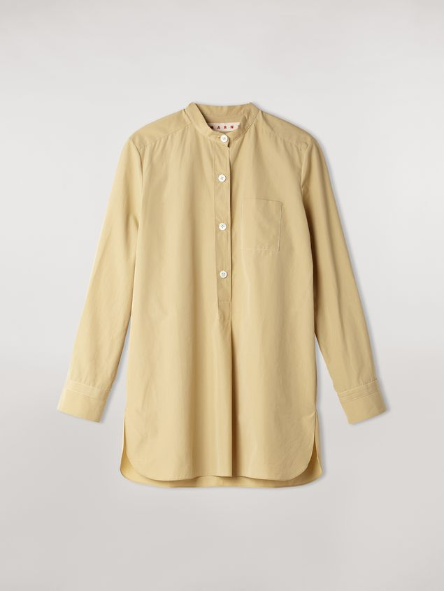 Marni Nehru-neck cotton poplin shirt Woman - 2