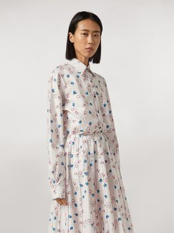 Marni Shirt in cotton print Apres-midi by Bruno Bozzetto Woman