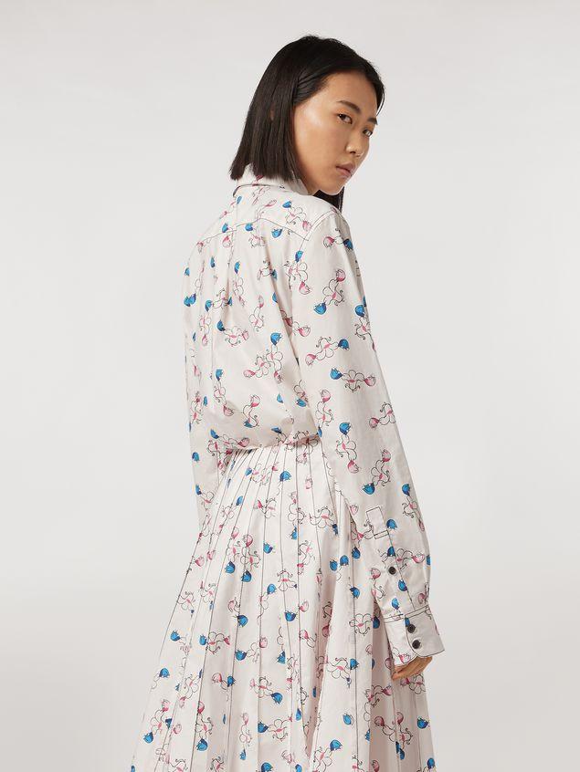Marni Shirt in cotton print Apres-midi by Bruno Bozzetto Woman