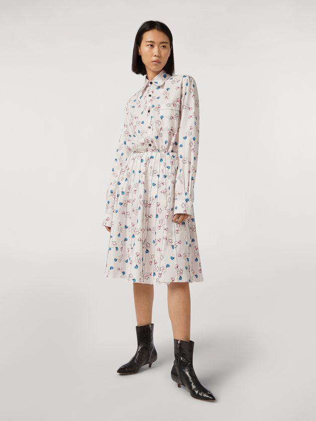 Marni Shirt in cotton print Apres-midi by Bruno Bozzetto Woman - 5