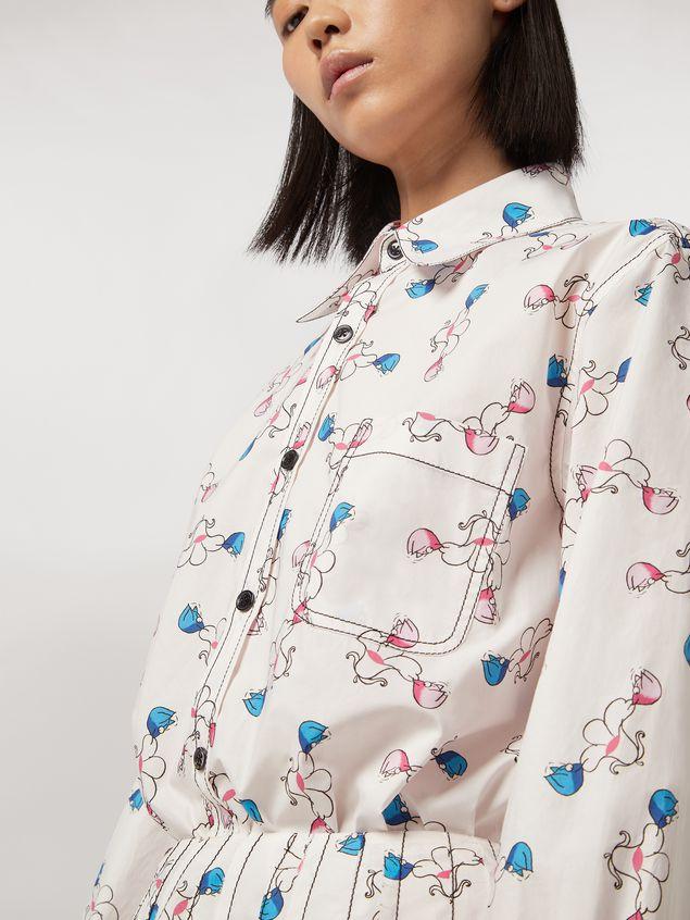 Marni Shirt in cotton print Apres-midi by Bruno Bozzetto Woman - 4