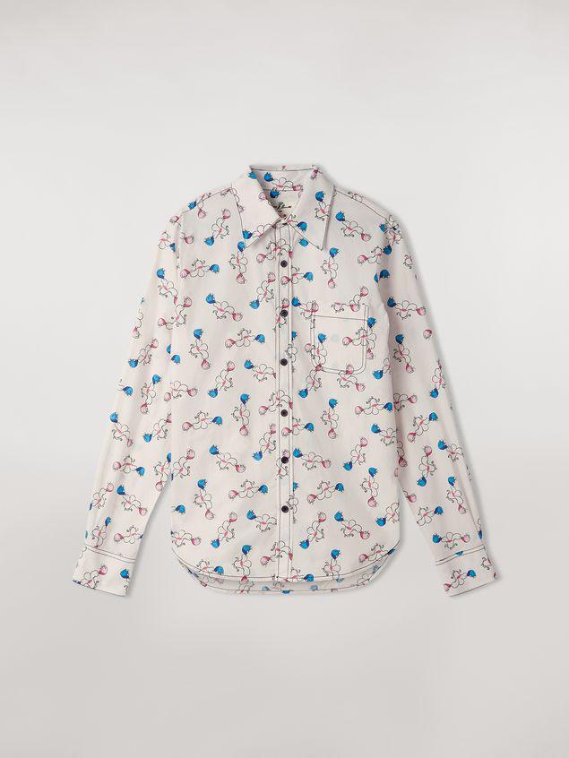 Marni Shirt in cotton print Apres-midi by Bruno Bozzetto Woman - 2