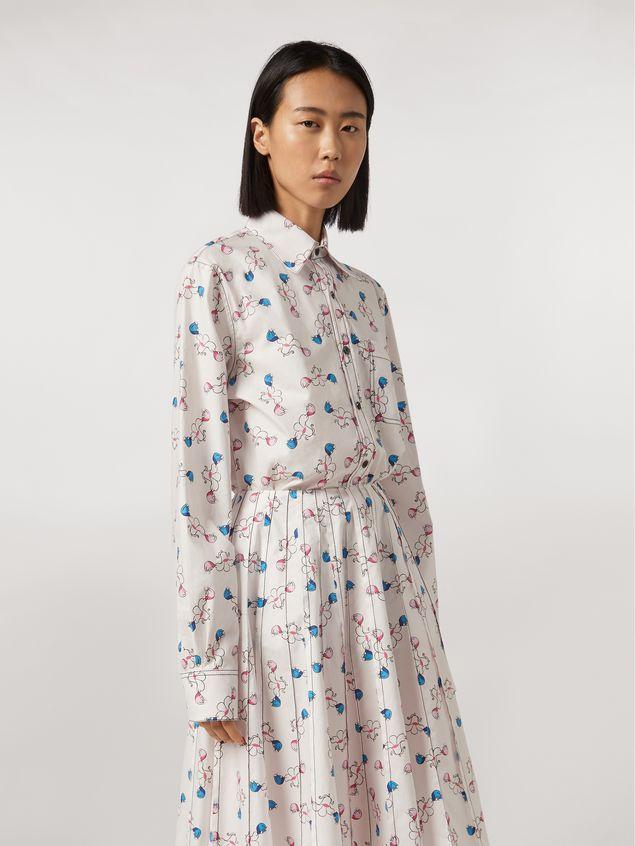 Marni Shirt in cotton print Apres-midi by Bruno Bozzetto Woman - 1