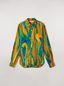 Marni Shirt in silk twill Psychotropic print Woman - 2