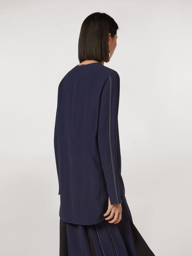 Marni Long envers crepe satin shirt Woman