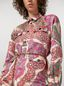 Marni 4-pocket shirt in brocade patchwork Woman - 4