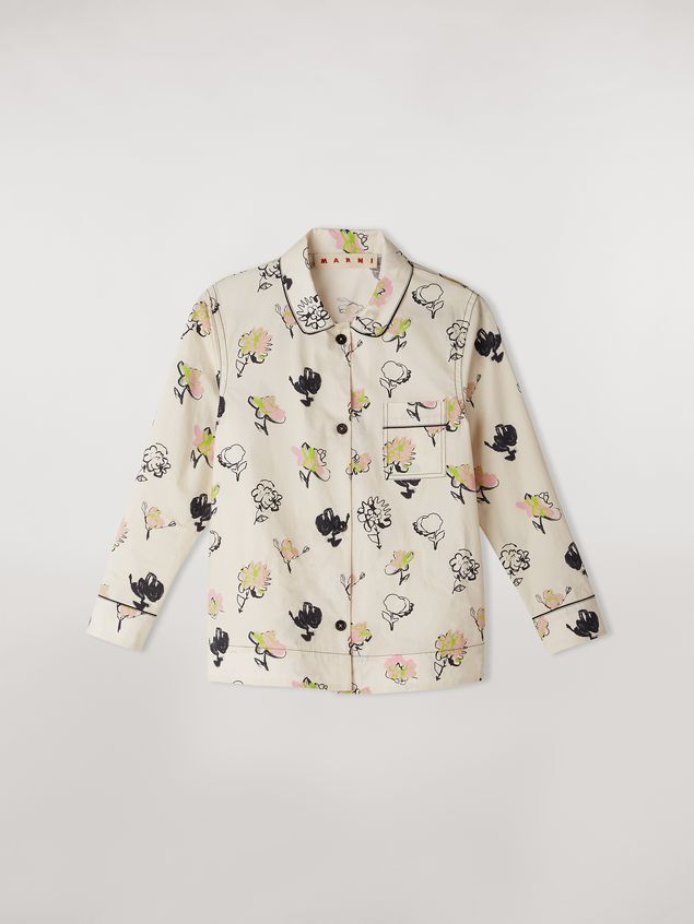 Marni Cotton poplin shirt Booming print Woman - 2