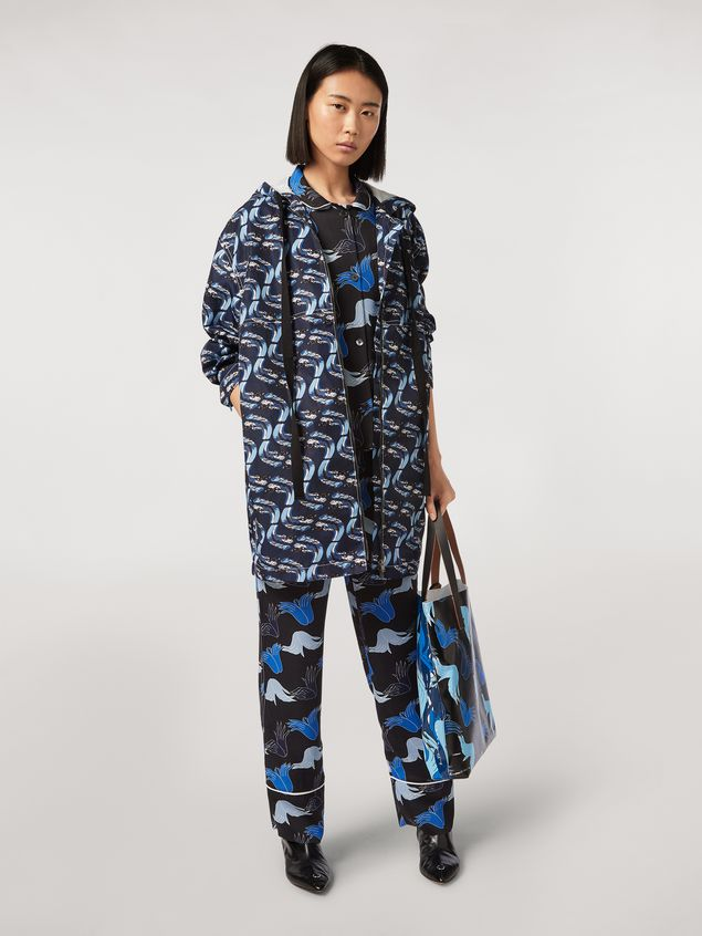 Marni Viscose sablé shirt Prelude print by Bruno Bozzetto Woman - 5