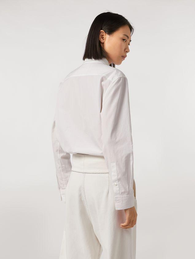 Marni Cotton poplin shirt Bolero print by Bruno Bozzetto Woman - 3