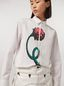 Marni Cotton poplin shirt Bolero print by Bruno Bozzetto Woman - 4