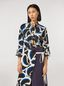 Marni Teardrop print cotton poplin shirt Woman - 1