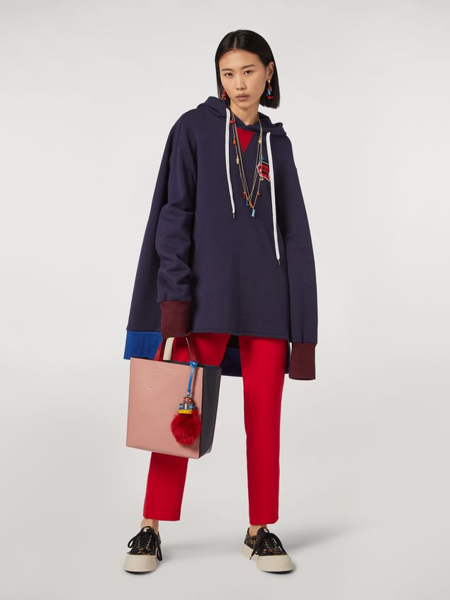 Marni Cotton gauze fleece with hood Woman - 5