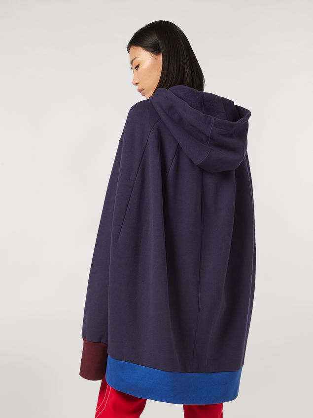Marni Cotton gauze fleece with hood Woman - 3
