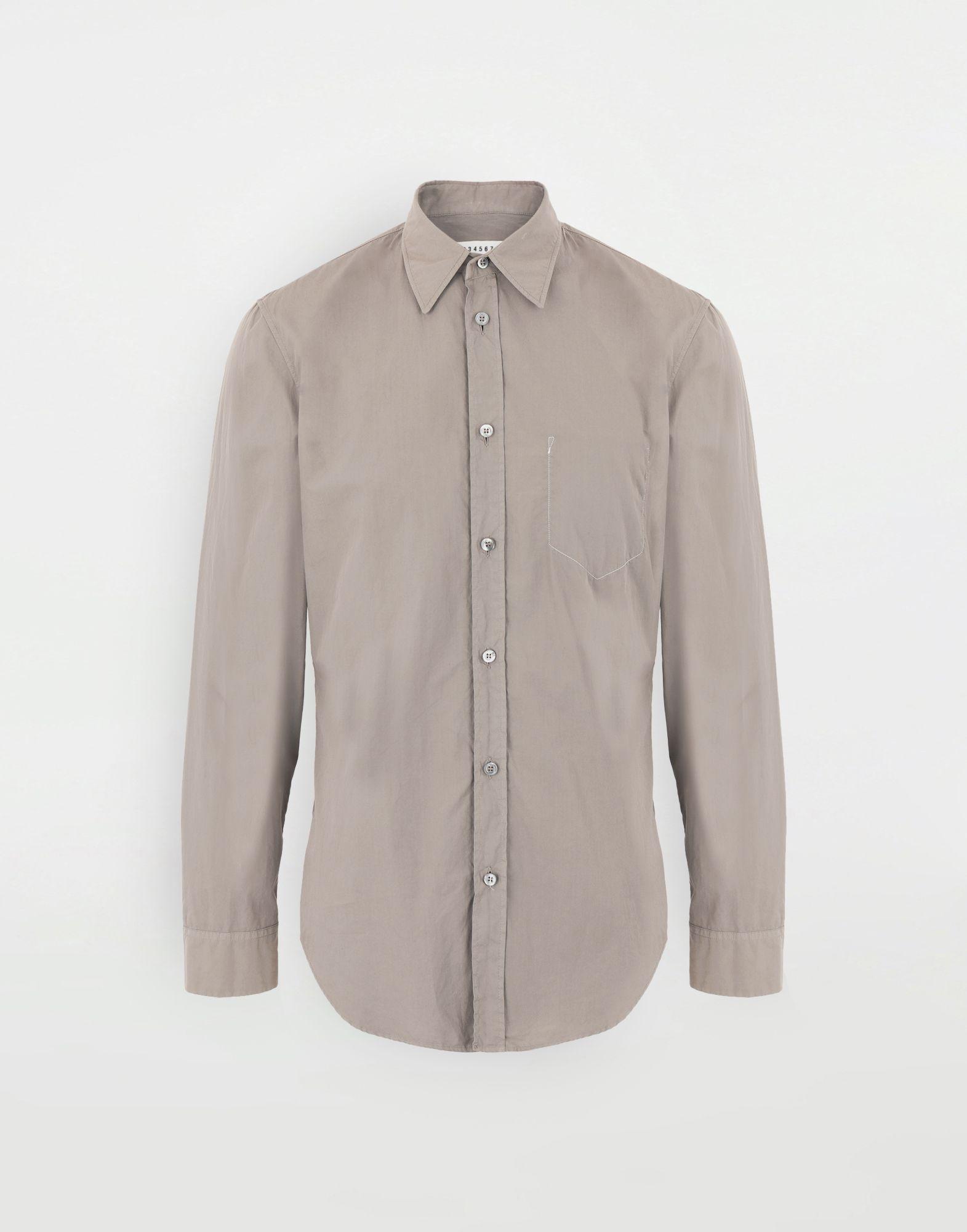 MAISON MARGIELA Camicia in cotone Camicia maniche lunghe Uomo f