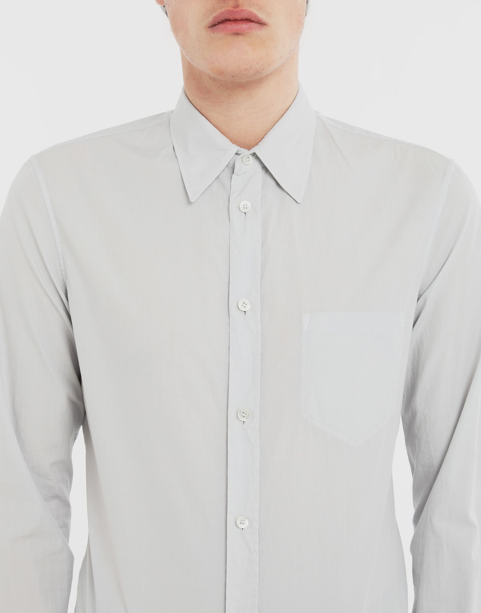 MAISON MARGIELA Cotton shirt Long sleeve shirt Man a