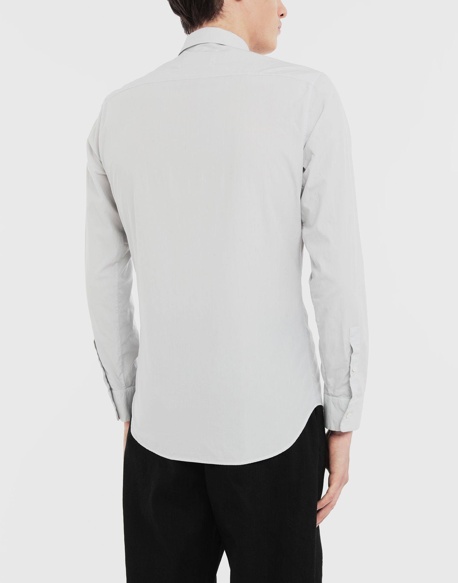 MAISON MARGIELA Cotton shirt Long sleeve shirt Man e