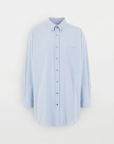 SHIRTS Oversized shirt Sky blue