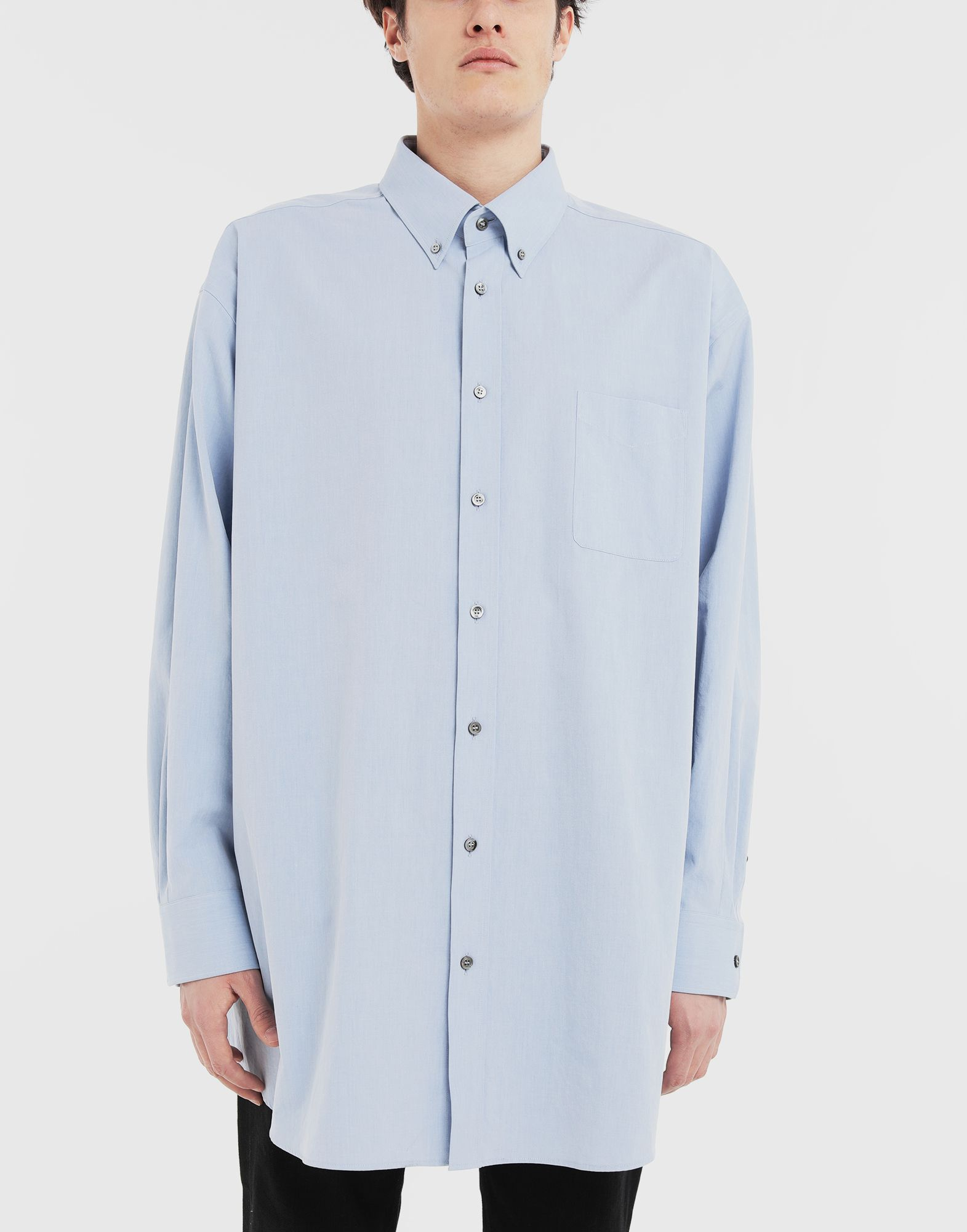 MAISON MARGIELA Oversized shirt Long sleeve shirt Man r