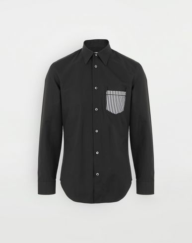 MAISON MARGIELA Décortiqué shirt Long sleeve shirt Man f