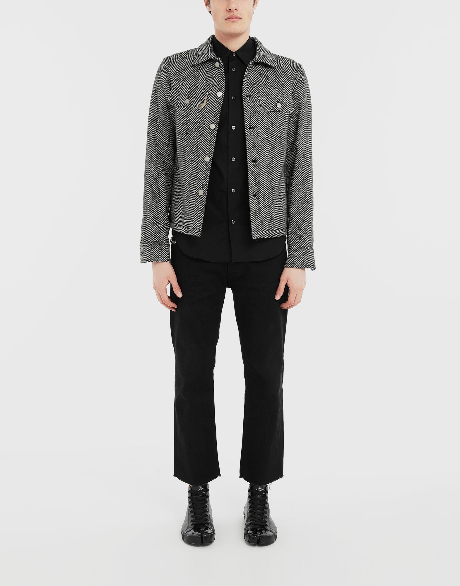 MAISON MARGIELA Décortiqué shirt Long sleeve shirt Man d