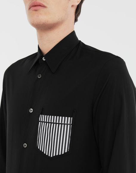 MAISON MARGIELA Décortiqué shirt Long sleeve shirt Man a