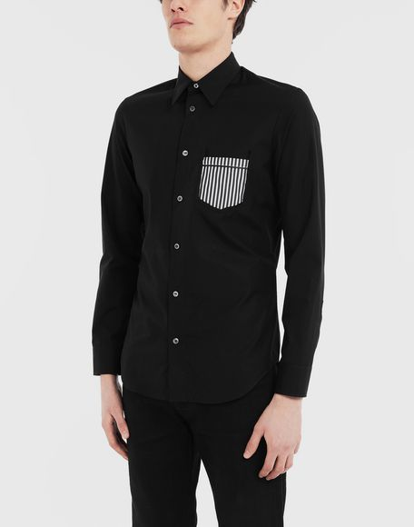 MAISON MARGIELA Décortiqué shirt Long sleeve shirt Man r