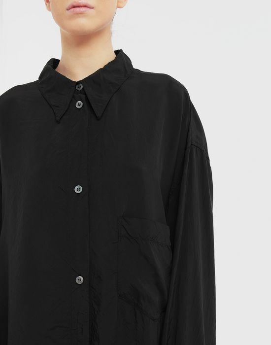 MM6 MAISON MARGIELA Oversized poly shirt Long sleeve shirt [*** pickupInStoreShipping_info ***] a