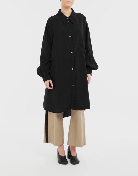 MM6 MAISON MARGIELA Oversized poly shirt Long sleeve shirt [*** pickupInStoreShipping_info ***] r