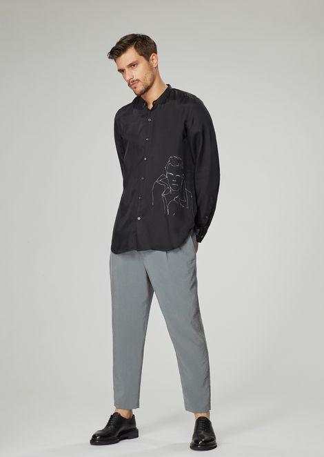 GIORGIO ARMANI Casual Shirt Man d