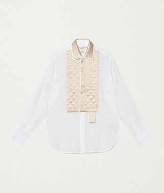 SHIRT IN COTTON AND SILK