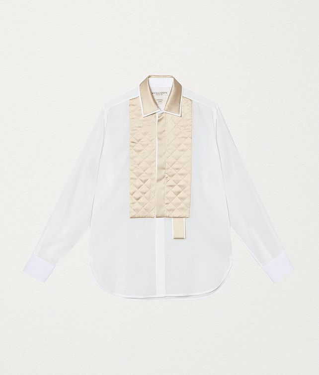 BOTTEGA VENETA SHIRT IN COTTON AND SILK Shirt and T-Shirt [*** pickupInStoreShipping_info ***] fp