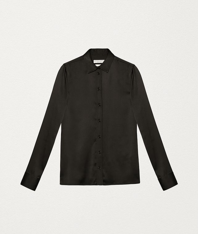 BOTTEGA VENETA SHIRT IN SATIN Shirt and T-Shirt [*** pickupInStoreShipping_info ***] fp
