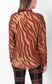 "JUST CAVALLI ""Glowing Zebra"" print shirt Long sleeve shirt Woman a"