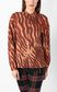 "JUST CAVALLI ""Glowing Zebra"" print shirt Long sleeve shirt Woman r"