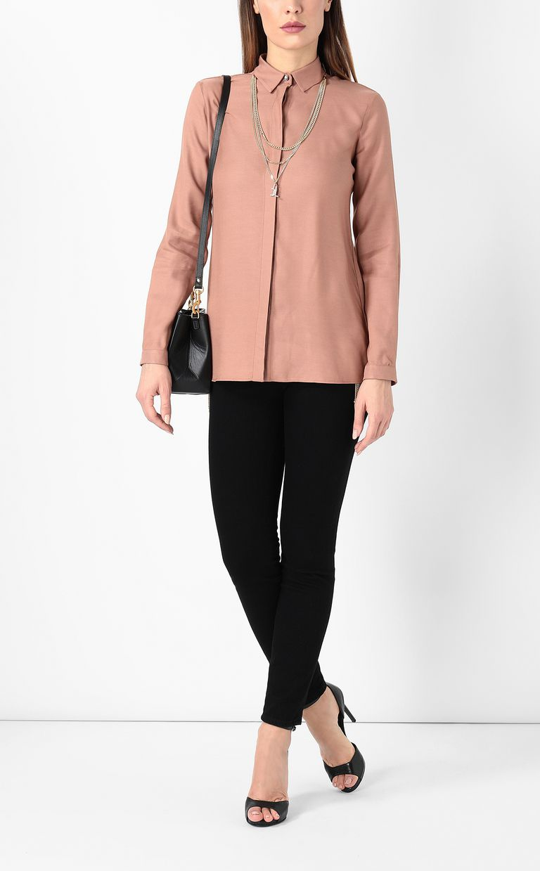 JUST CAVALLI Shirt with chain detail Long sleeve shirt Woman d