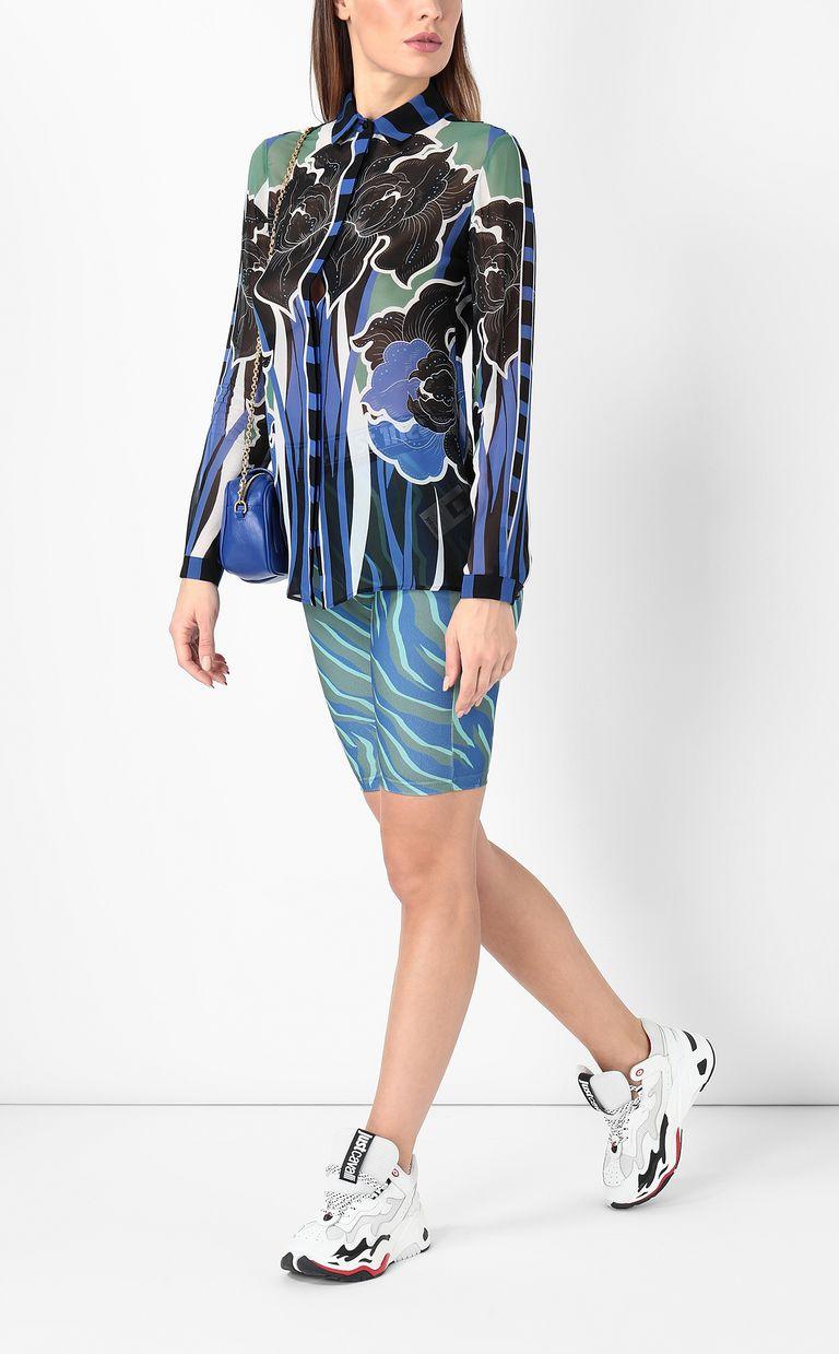 JUST CAVALLI Shirt with floral print Long sleeve shirt Woman d