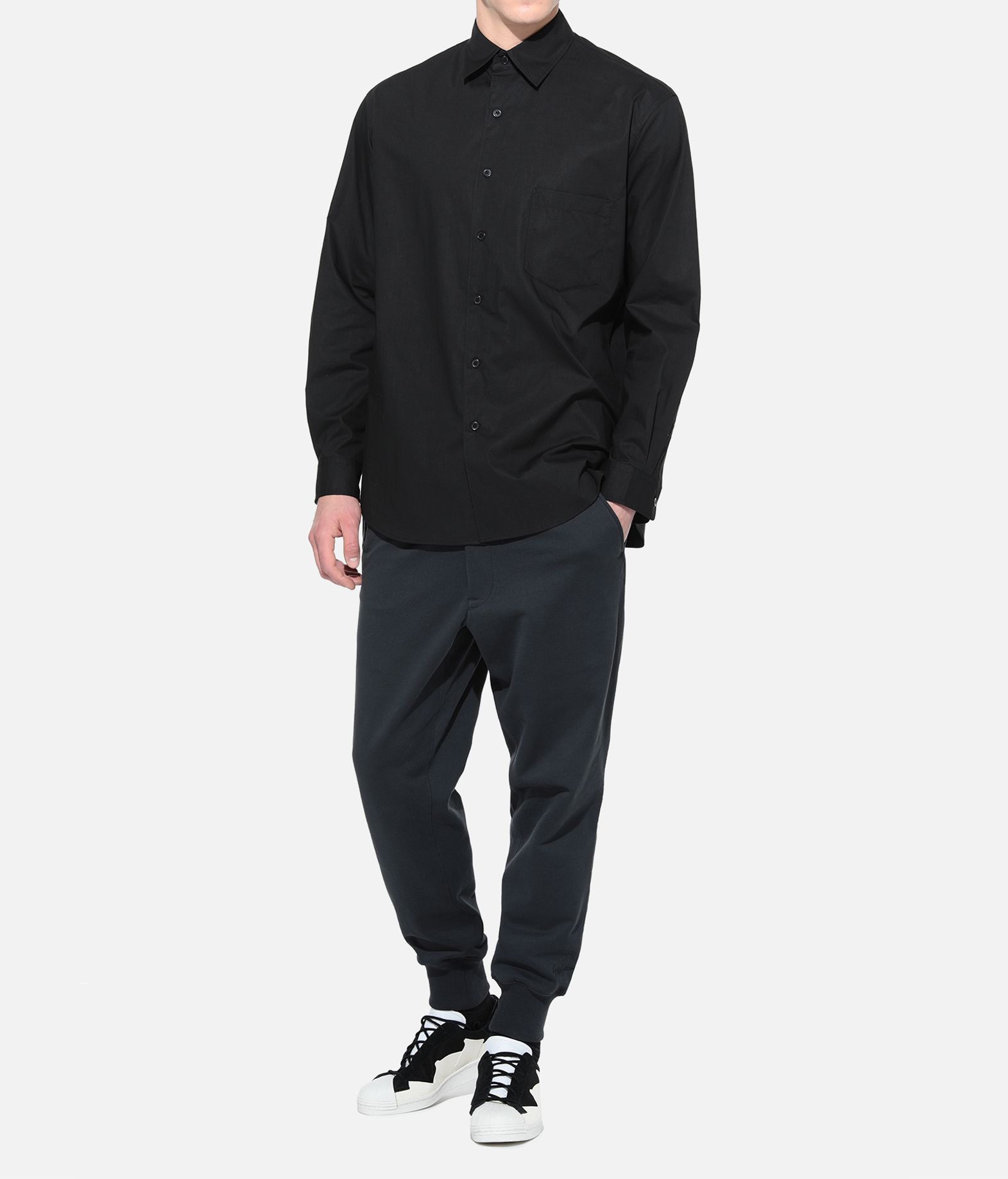 Y-3 Y-3 YOHJI SHIRT Long sleeve shirt Man a