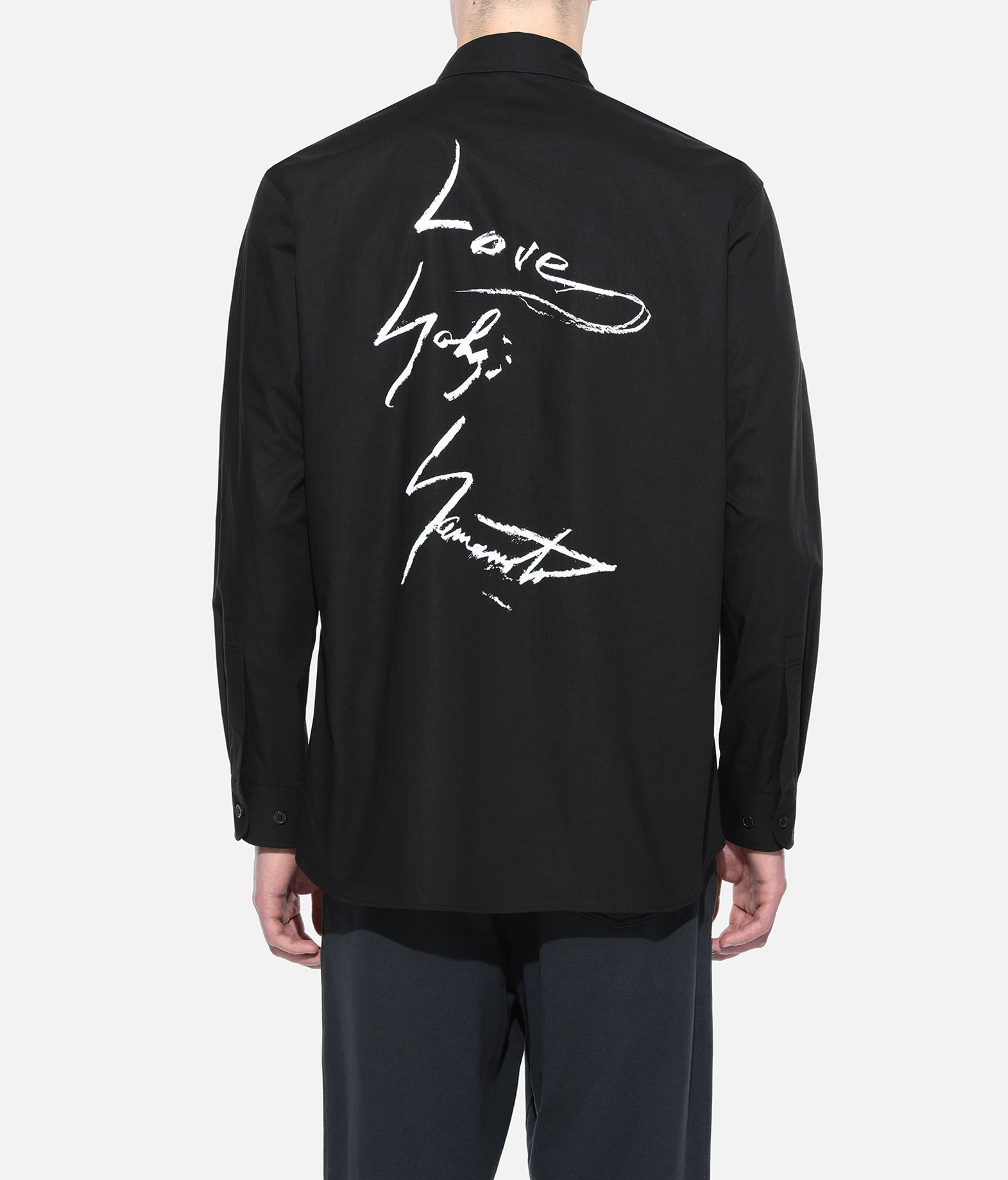 Y-3 Y-3 YOHJI SHIRT Long sleeve shirt Man d