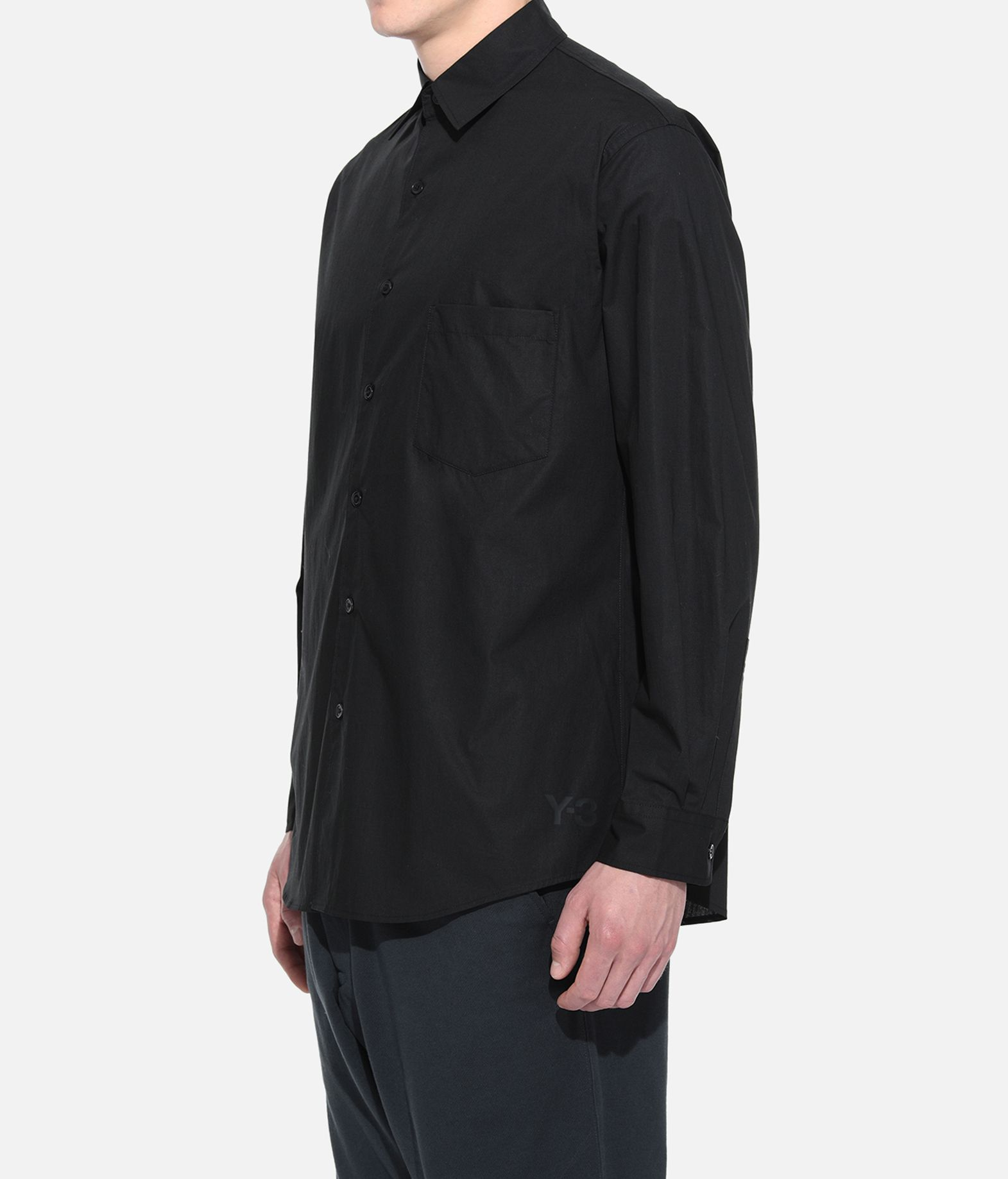 Y-3 Y-3 YOHJI SHIRT Long sleeve shirt Man e