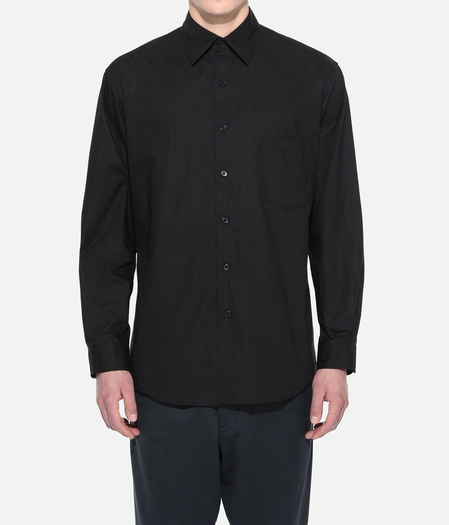 Y-3 Y-3 YOHJI SHIRT Long sleeve shirt Man r