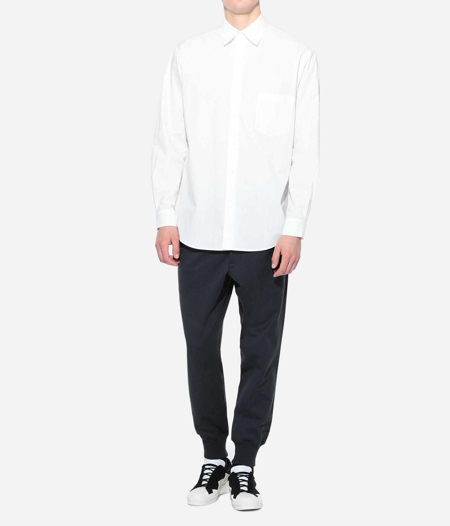 Y-3 Y-3 GRAPHIC SHIRT Long sleeve shirt Man a
