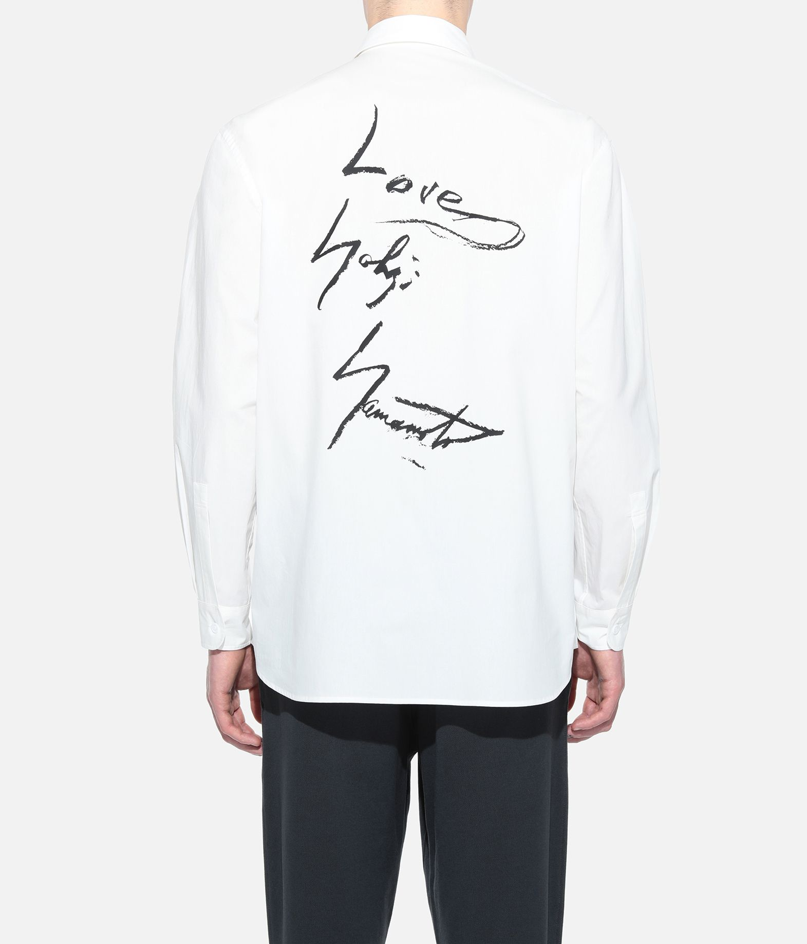 Y-3 Y-3 GRAPHIC SHIRT Long sleeve shirt Man d