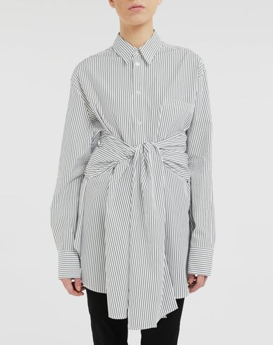 MM6 MAISON MARGIELA Long sleeve shirt Woman Multi-wear shirt r
