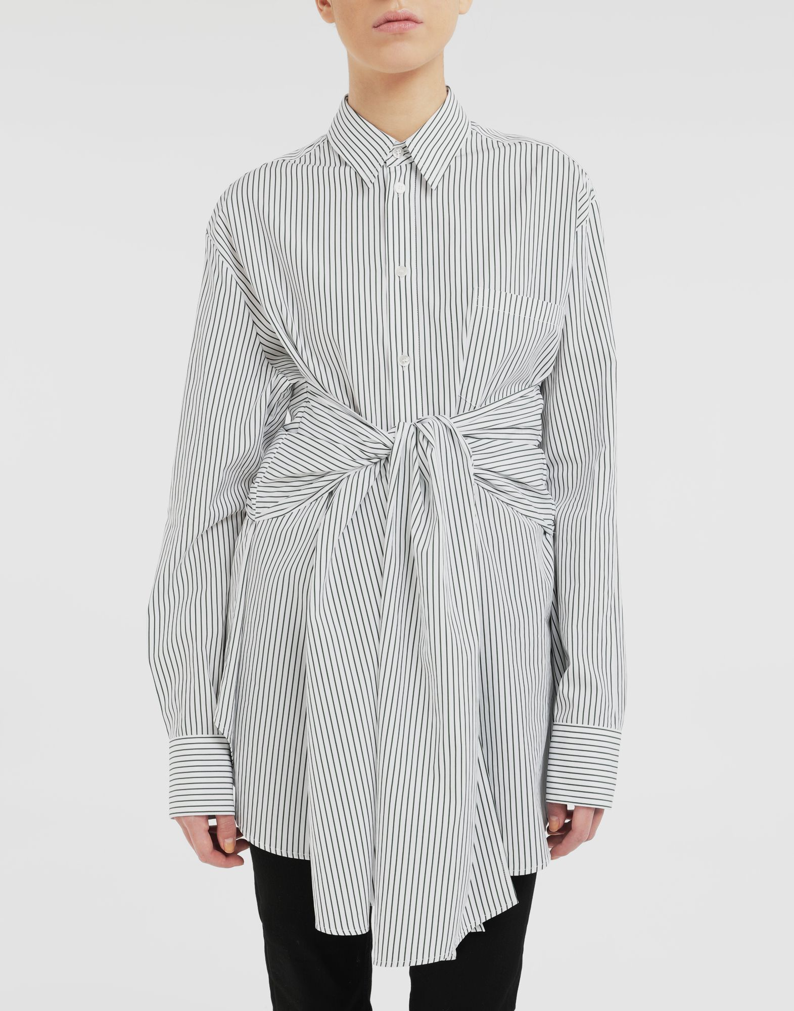 MM6 MAISON MARGIELA Multi-wear shirt Long sleeve shirt Woman r