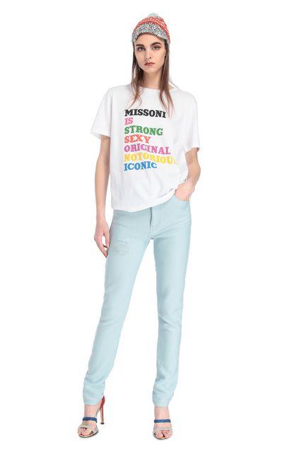 MISSONI T-Shirt Weiß Dame - Rückseite